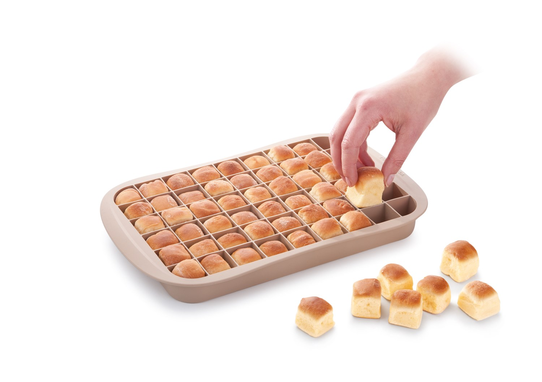 Sensationelle Silikone bageform til små tapas brød og kuvert brød VM05